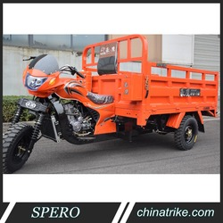 TENTIAN A4 Chinese Three Wheel Car Motorcycle 200cc 250cc 300cc Cargo Tricycle for Peru Mexico South American Market