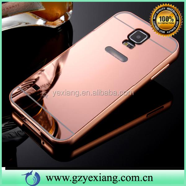 Fashion Accessories Ultra-Thin Aluminum Metal Mirror Phone Case For Samsung Galaxy S5