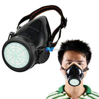 New Respirator Gas Mask Safety Anti-Dust Chemical Paint Spray Single Cartridge