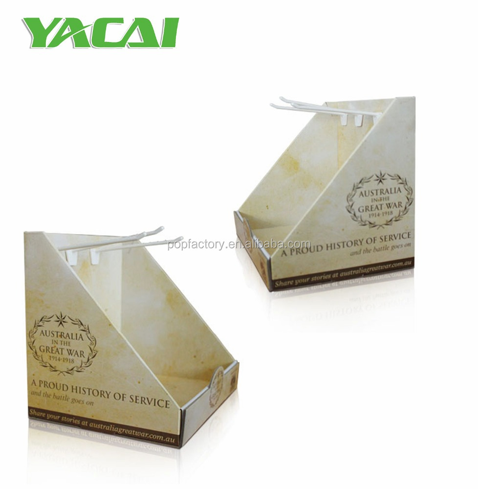 Personal care Cardboard counter top pop display box,Retail cardboard pdq counter