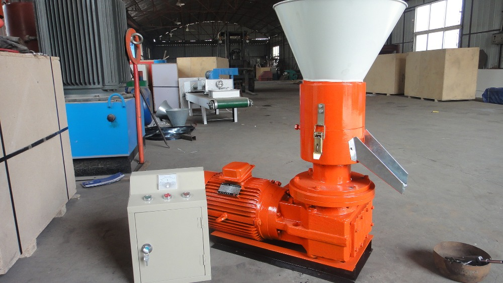 High quality home use wood pellet making machine for burning stove