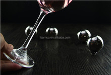 Party wine chiller stone /Stainless steel ice cube BLG-7107