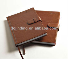 New Stationery School Leather Digital Diary