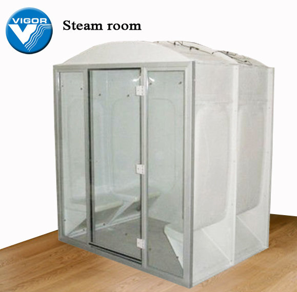 Compact steam shower room,computer steam room,wet steam sauna room