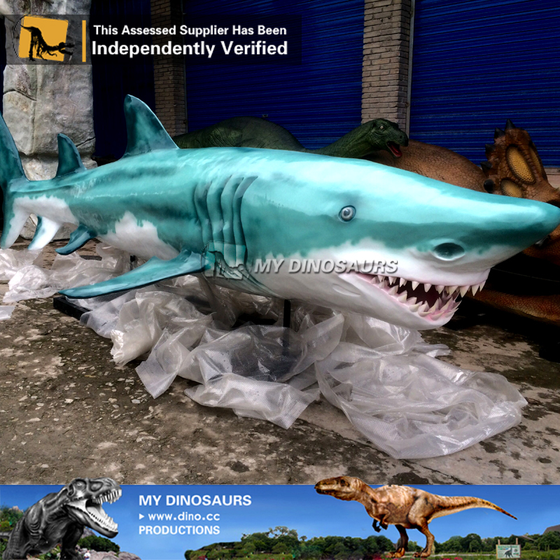 N-W-Y-887-shark 3d model fish shark replica