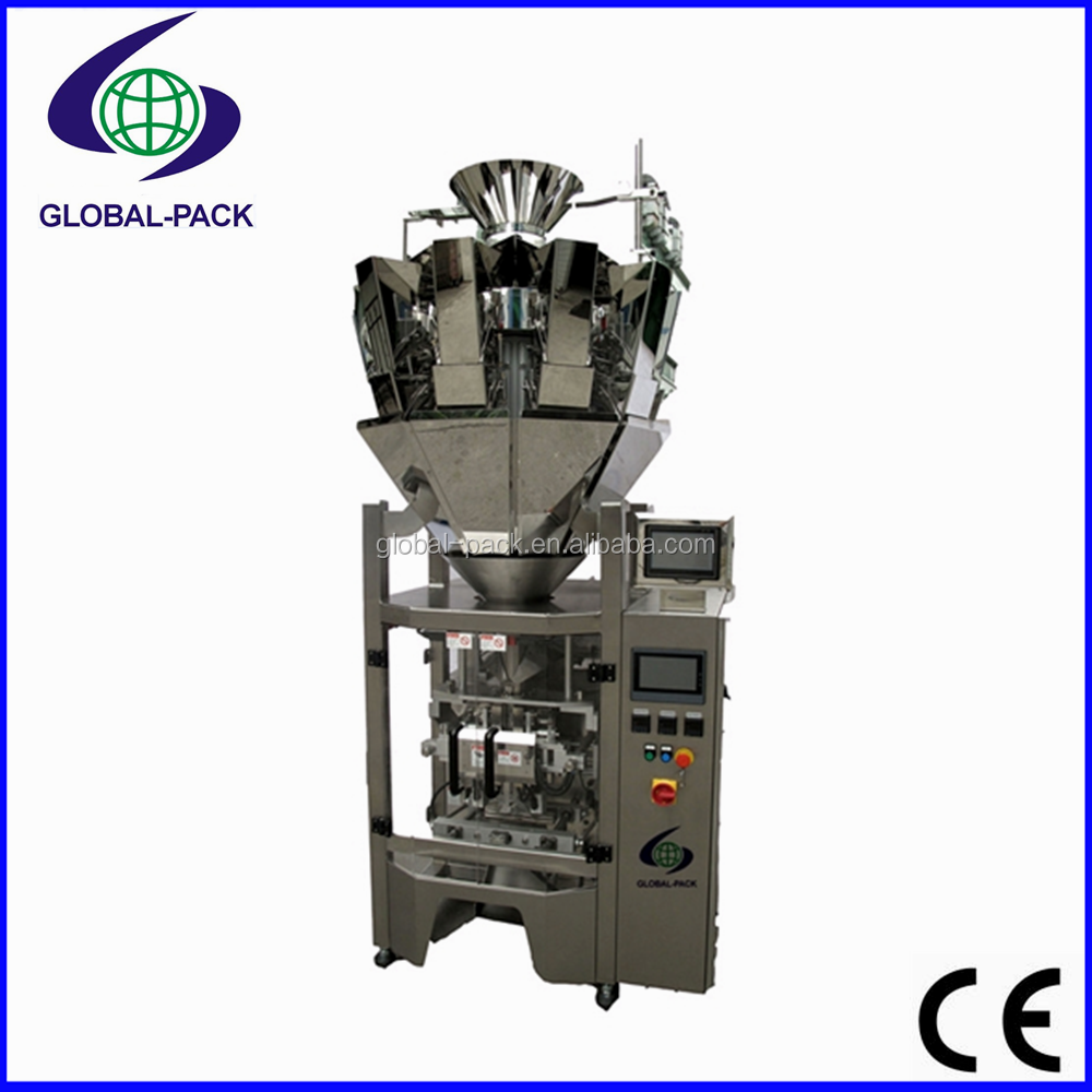 GPM-420E Top selling Automatic rice grain pasta dry fresh food weighing pouch bag vertical packing machine manufacturer