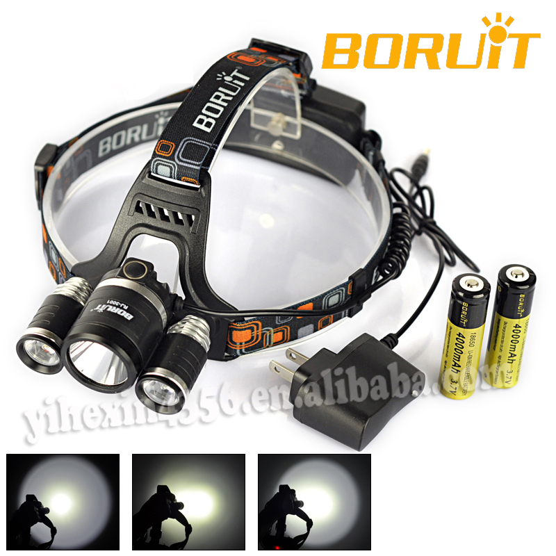 Hot High Power LED Headlamp /CREE headlamp 5000 Lumens with CE&ROHS