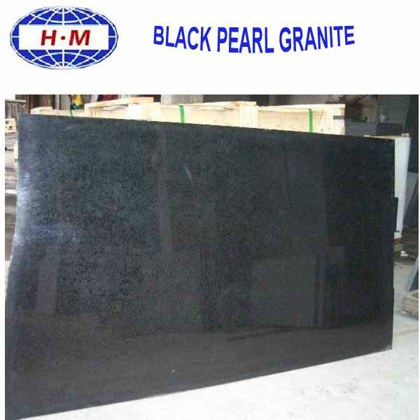 China fujian black pearl granite G684
