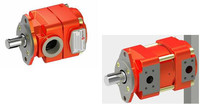 BUCHER HYDRAULIC PUMP, HAMD CONTROL AND VALVE