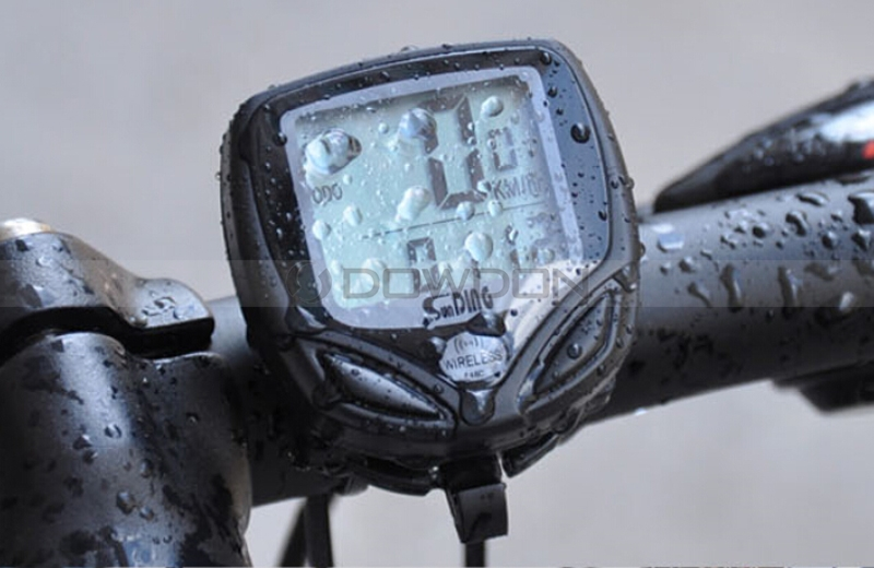 Waterproof LCD Bicycle Computer Display Bike Cycling Outdoor Sports Odometer Speedometer
