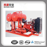 EDJ Diesel engine driven Skid mounted Fire Pump Set