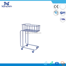 metal swinging design baby cribs baby cot bed prices factory prices with wheels (YXZ-009)