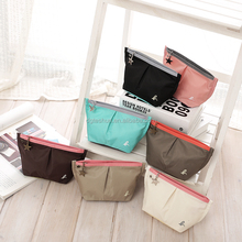 230T polyester wrinkle cosmetic case creative cosmetic bag