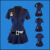 Sexy Cosplay Costume Policewomen Uniform Halloween Clothing Police Costume For Women Four-piece Set (Hat+Dress+Belt+ Handcuffs)