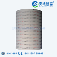 Disposable Medical EO Sterilization Syringe Blister Paper