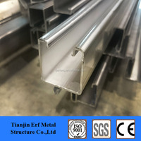 China Supplier Cold Formed Slotted Supreme Unistrut Channel ,Perforated Strut Channel , Steel C Channel