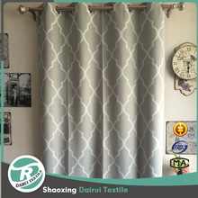 Ready made italian curtains drapery panel for living room
