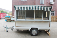 Perfect Quality food trailer / OEM service cake pop maker with food cart, food container cart to sell roast beef