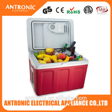 2016 BEST Antronic ATC-40 CE/GS/ROHS 40L big volume car/home use cooler box with wheels PP plastic cooler mini box