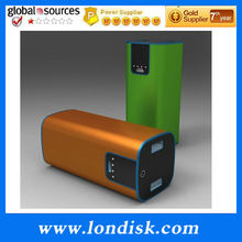 High Class dual power bank stick 13000mAh / Powerful OEM battery energy bar with Multi USB Charger