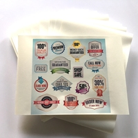 Inkjet PP glossy label paper A4 size/PP sticker/a4 waterproof sticker paper