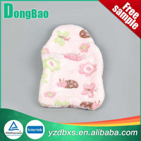 good quanlity and cute colourful flower printing hot water bottle soft plush cover