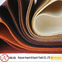 Factory price Eco-friendly polyester felt 1-5mm thickness available