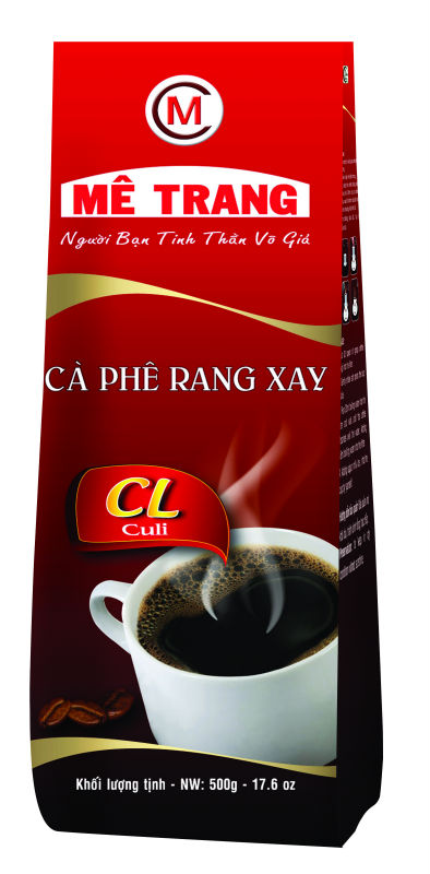 ROASTED COFFEE BEANS - CL LABEL - VIETNAMESE FLAVORS - ME TRANG BRAND