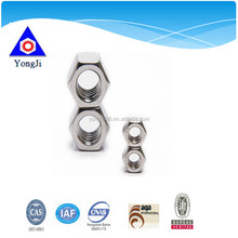 International Standard Carbon Steel hexagon nut