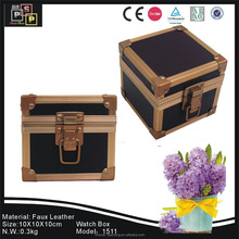 New designed good tasted durable waterproof wood watch box
