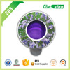 Good smell lavender scent membrane car air freshener with long lasting time