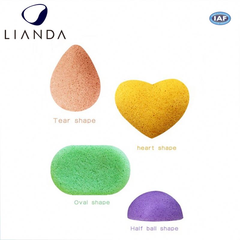 Konjac Sponge Gently exfoliates your skin and brighter looking skin oval sponge,organic konjac sponge