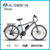 "26"" mountain road electric bikes with Samsung lithium battery with EN15194 approval Electric Bike TM261"