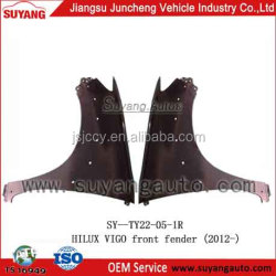 High Quality Steel Front Fender Used Cars Japan Toyota Hilux 2012- Pick Up