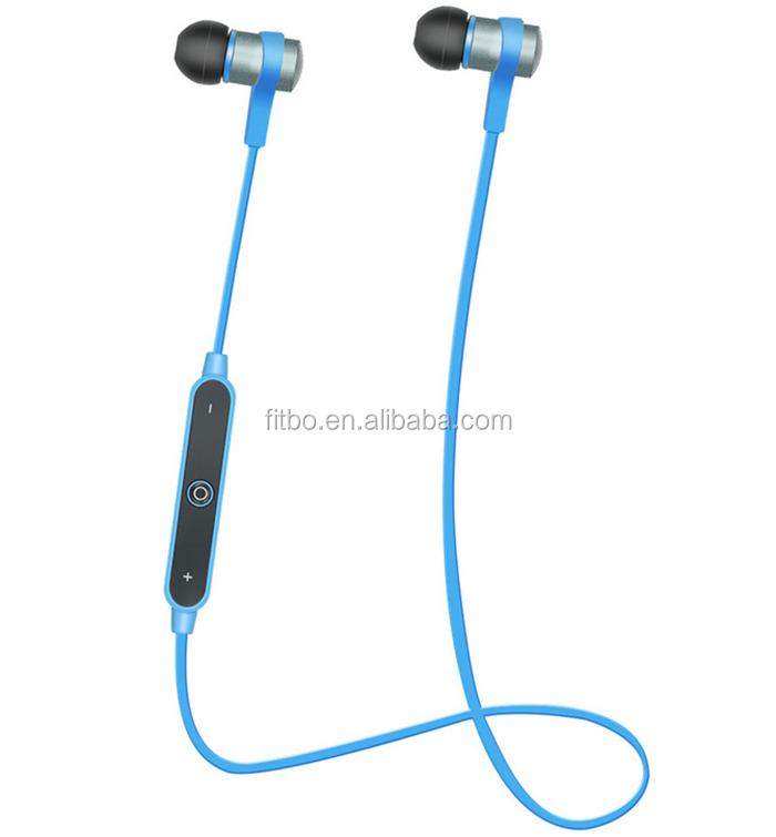 Portable Fashion In-ear colorful wireless earphone bluetooth headset