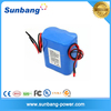 Certificated 18650 4400mah 12v li-ion battery pack for Medical Instrument