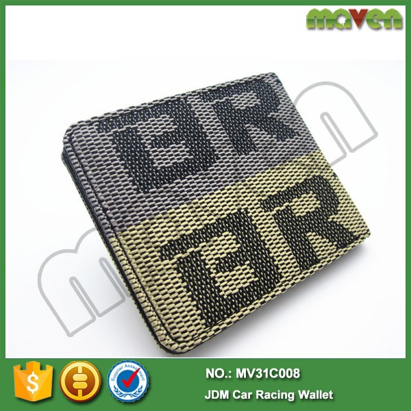 Bride Seat Fabric Wallet JDM Jap Drift Rally Track Graduation Gift For Honda MV31C008