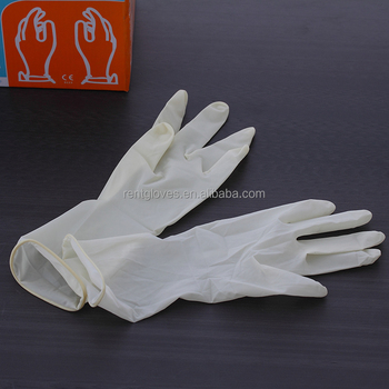 2016 High Quality Powder/powder Free Disposable Medical Latex doctor custom Surgical Sterile Gloves Chinese Suppliers for export