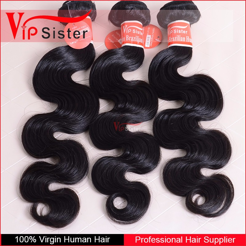Top quality VIP factory supply unprocessed wholesale virgin brazilian hair