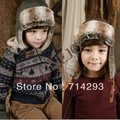 Kids Winter Plush Winter Bomber cap with earflaps 9453