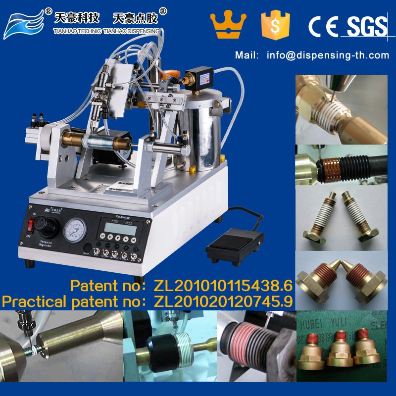 TianHao Thread Sealant Equipment for Threadlocking adhesive coating TH-2004L3-4