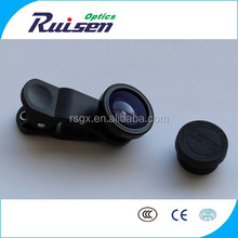new 3 In 1 Wide angle Macro Fisheye Lens For Mobile Phone