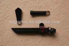 leather zipper puller for clothing