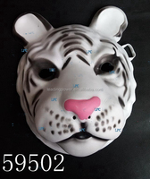 white tiger eva rubber animal adults mask full face cosplay mask children mask 59502