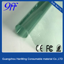 Green Car Window Glass Pellicle Tint Protection film For Car , Solar Window Film With High Quality