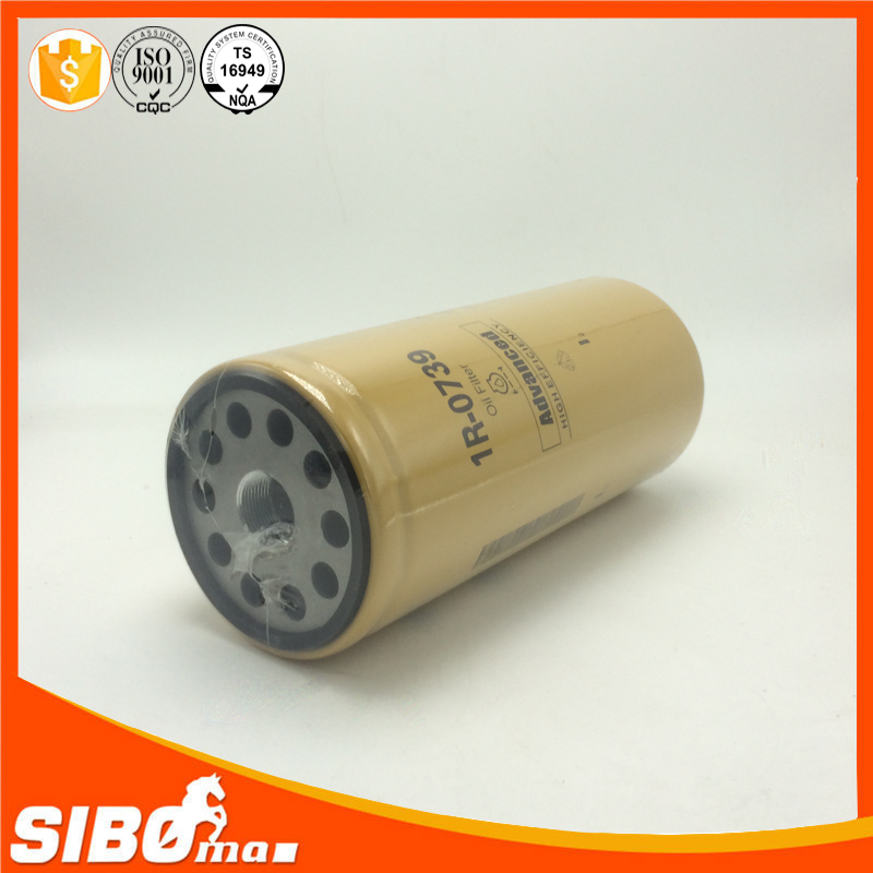 Reliable quality high efficiency oil filter 466634-3 2P-4004 1R-0739 1R-0658