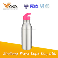 Steel metal type and metal stainless steel material sport water bottle