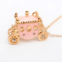 2014 wholesale cheap gold plating jewelry fashion diamond car charms cheap custom name design 18k gold necklace PN1321