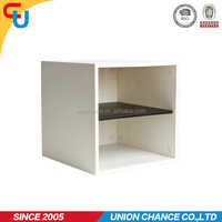 Bedroom regularly plastic book storage box with divider