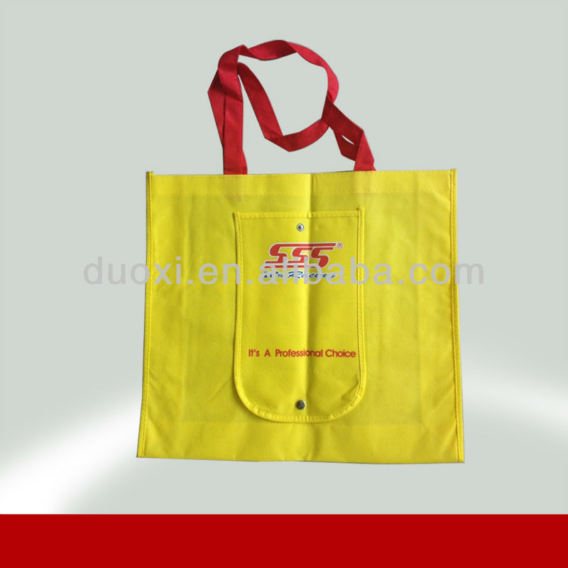 Best selling Low price grocery pocket foldable tote bag 100% Manufacturer